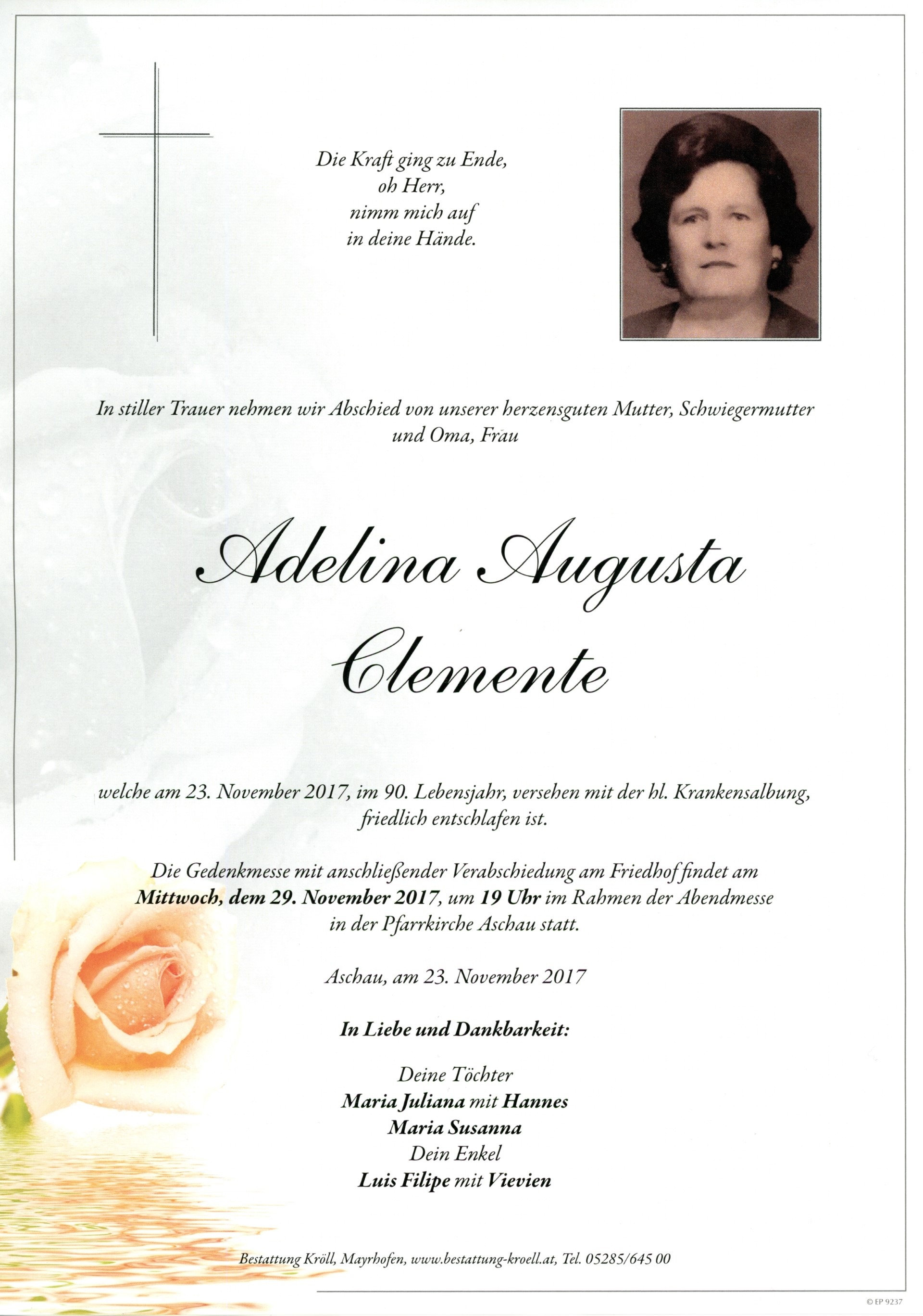Adelina Augusta Clemente